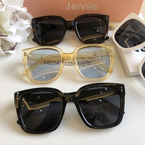 Internet Star Co Branded Gm Female Ku Frame Couple Style Big Face Thin Anti Uv Sunglasses Man