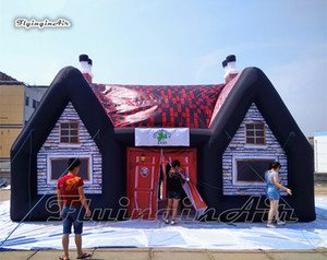 Гигантская надувная ретро ирландского паба ой легко построить шатер партии воздух Сгорел Общественный Дом Клуб Карнавал украшение
