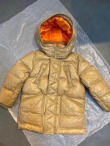 Haute Qualité bébé garçons garçons manteau d'hiver de mode d'hiver vestes de longues vestes de plein air manteaux épais enfants chaleureux enfants fille à capuche