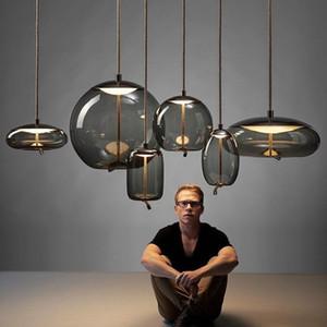 Scandinavian BROKIS узла подвесного светильника Прикроватной Nordic Люстра Luminaria Deco Glass Luster подвеска лампа Светильник Suspendu