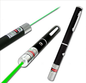 High Power Green Laser Pointer Pen With Star Cap Projector Professional Lazer Pointer Visible Beam Light wholesale