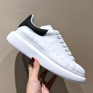 luxurys designers shoes Femmes Blue Velvet Retour Plate-forme Chaussures de sport en cuir véritable Formateurs blanc Confort jolie fille en gros style Chaussures Casual