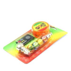 1set tubos de fumo com 1 pcs tabaco erva moora de bolso de bolso erva tubos fumar acessórios rápidos dhf1060