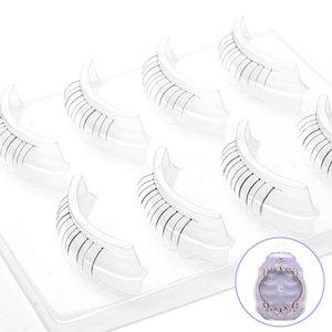 4 Pairs Makeup Air sensation lightweight False Eyelashes Fake Eye Lash Extension Nude Beauty Makeup Natural Party Bride