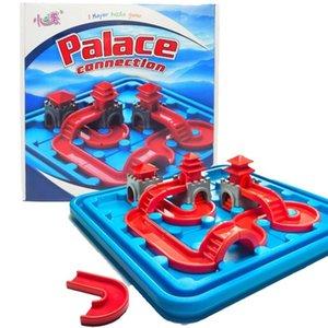 Temple Connection Path-Baby Brain Game 80 التحديات المجلس لعبة التفكير المنطقي لعبة متعة الجذعية التركيز لعبة اللغز للأعمار 6 والأزهار C0119