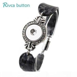 P00813 -6 Hot noosa Snap Bracelet&Bangles Newest Design Fashion Leather Charm Bracelets Fit 18mm Rivca Snaps Button Jewelry