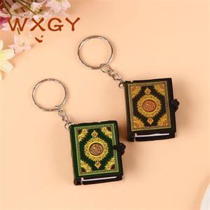 Keychain Quran Book Cool Bonito Saco de Carro Chave Nova Moda Acessórios Anel Mini Moda Atacado Presente Islam 175 K2