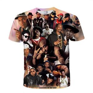 Legend Rapper Tupac 2Pac 3d Print Hip Hop T Shirt Long Mens Clothing Pullover Hooded Suits