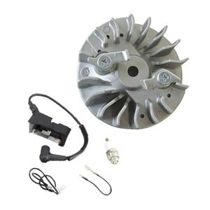 Flywheel la bobina de encendido con los alambres Spark Plug para Husqvarna 365 371 372 372XP 359 motosierra