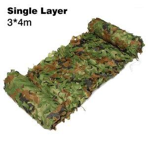 Портативный Открытый кемпинг Camouflage Nets Woodland Army Camo Netting Camping Sun Healtertent Shate Sun Helter1