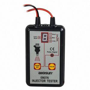 핫 전문 EM276 인젝터 테스터 4 인 펄스 모드 강력한 연료 시스템 검사 도구 EM276 SNLx 번호