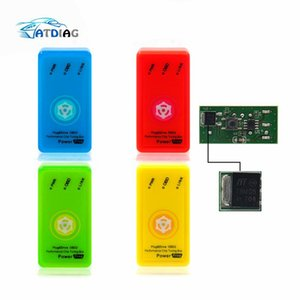 Full Chip Saving 15% Fuel ECOOBD2 NitroOBD2 Chip Tuning Box ECO OBD2 Nitro OBD2 For Diesel & Benzine Engine with reset button