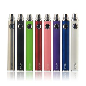 EVOD Battery eGo Thread Vape Pens Electronic Cigarette Batteries 510 eCigs for MT3 CE4 CE5 Protank Atomizer