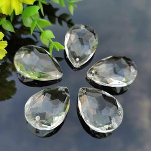 5 unids araña cristales prisma 2 orificios colgantes colgantes colgantes para techo bajo DIY SunCatcher Home Wedding Decor Accesorios H BBYBEZE