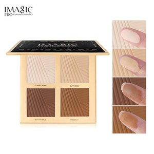 makeup cosmetics IMAGIC natural powder foundation oil control bright white concealer whitening makeup powder 4 colors highlighter palette br