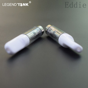 CaliPlug Carts vape cartridge 0.5ml 1ml Ceramic Cartridge empty e cigarette vaporizer glass tank atomizer press tip
