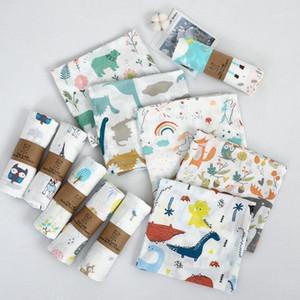 1Pc Muslin 100% Cotton Baby Swaddles Soft Newborn Blankets Bath Gauze Infant Wrap Sleepsack Stroller Cover Play Mat Baby Deken1