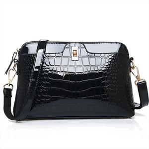 Women Handbag Leather Shoulder Messenger Bag Female Crossbody Handbag Small Shell Ladies Crocodile Pattern Fashion Women Bags