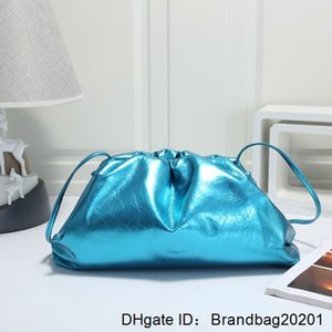 1 Soft Hot Hight Handbag Cloud-wrapped Dumpling Leather Madame Single Shoulder Slant Sell Quality Bag Day Clutches bags New Xwxfo