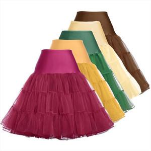 24 Hours for Shipping Free 50s Cosplay Petticoat Rockabilly Dress Crinoline for Woman Wedding Bridal Underskirt Rockabilly Tutu