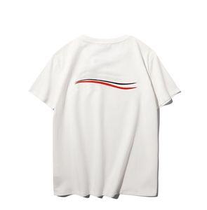 Moda Mens T Shirt harfleri ile Sıcak Satış T Shirt Yeni Yaz Erkek Bayan Çift Casual Tops Tees Kısa Kol Kazak Boyutu S-XXL