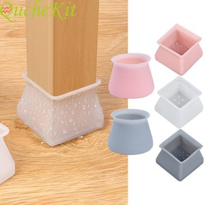 4-part table chair leg silicone plug cushion furniture foot non slip pad table foot blanket chair leg carpet chair accessories
