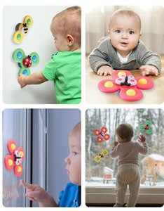 Baby Rattles Fidget Spinner Baby Bell Toy Bath Newborn Funny toy Pink Yellow Green Parent-child interaction Relaxr Butterfly Insects Bees
