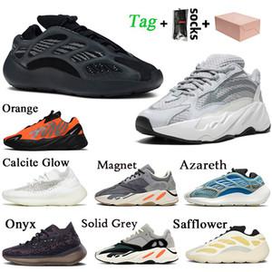 مع مربع 2020 Stock x Adidas Kanye West Yeezy 700 حذاء رياضي رجالي نسائي مقاس كبير 46 yezzy 700 700 V3 Alvah Static Vanta 380 Lmnte Azael Azareth احذية المتدربين الرياضية