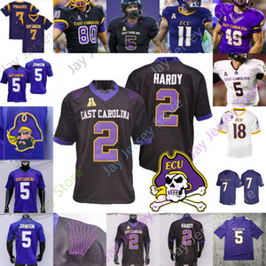 2020 East Carolina Pirates ECU Football Jersey NCAA Kendall Futrell Chris Johnson Holton Ahlers Demetrius Mauney Johnson Snead Jones