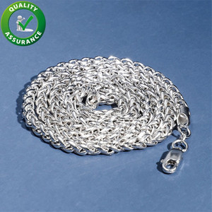 Iced Out Chains 925 Sterling Silver Jewelry Mens Luxury Necklace Designer Hip Hop Cuban Link Chain Rapper Hiphop Accessories Fashion Charms