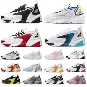 Nike M2k Tekno Zoom 2K Nouvelle arrivée DELIVER R4 Chaussures de course pour Hommes Femmes Noir Gris Or OZ NZ 301 Sneakers Hommes Formateurs Chaussures de sport vente chaude