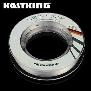 Kastking Kovert 46m 183m 4-50lb 0.16-0.7mm 100% Fluorocarbon Line Durable Wining Líder Línea de pesca Material de Alemania 201116