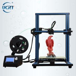 Ucrt 3D-Drucker 300 * 300 * 400 Desktop 3D-Druck-Kits-Extruder Metallrahmen Impresora Hohe Präzision Impressora Lager Größe1