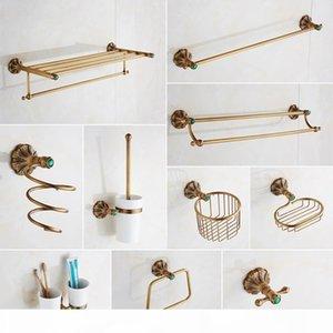 Paper Hairdryer Dish Holder Rack Wall Retro Bathroom Soap Bathroom Toilet Hardware Hook Set Brass Accessories Bath Towel xsQir mj_bag