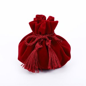 JkfcT Flannelette jewelry packing flannelette bundle pocket Wedding Candy Gift bag storage bagCandy storage bag bag