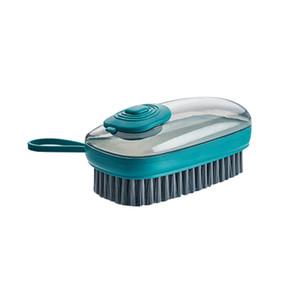Dispositivo de llenado automático Limpieza Brocha multifuncional plástico suave lavado zapatos de ropa Cepillos de ropa Limpieza doméstica Cepillo 83 J2