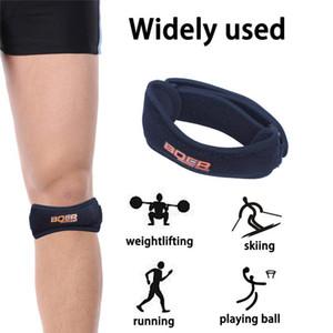top Quality Patella Tendon Strap Runner's & Jumper's Knee Strap Support Protective Bands Belt Shockproof Adjustable boer Knee Pads DHL ship