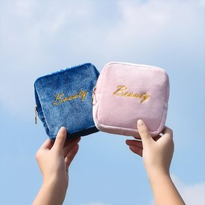 New woman Sanitary Napkin Storage Bag Portable Travel Storage Key Coin Bags Cosmetic Lipstick Pouch Zipper Small Purse