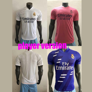 20 21 Joueur Version Real Madrid Collection Human Collection Jerseys Soccer Valverde Rodrgo Camiseta 2020 2021 Vini Football Shirts Equipement