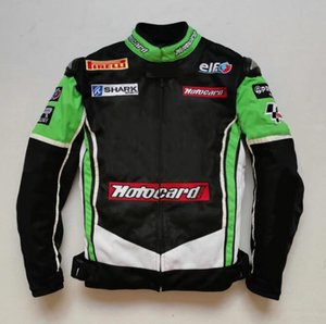 The new hot-selling cross-country motorcycle riding knight suit locomotive racing jacket outdoor speed drop anti-fall jacket