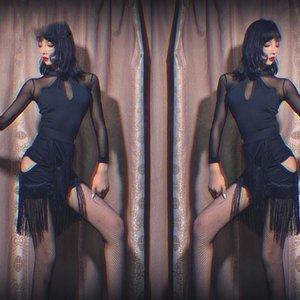 New Latin Dance Costume For Women Dancing Performance Wear Stage Dress Black Fringe Skirt Samba Cha Cha Swing Tassel Skirt BI941