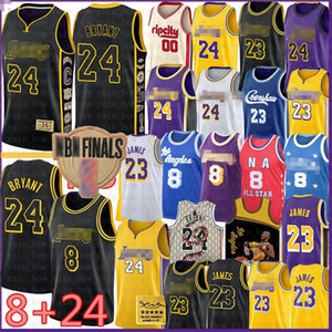 LeBron James 23 6 Basketball Jersey BRYANT Carmelo 8 24 Anthony Los Angeles