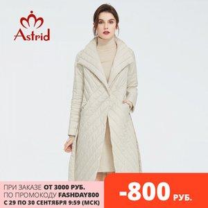 Astrid yeni varış Bahar klasik tarzda uzunluğu kadınlar ceket Sıcak Pamuk Ceket moda Parka kaliteli eskitmek ZM-7091 200930