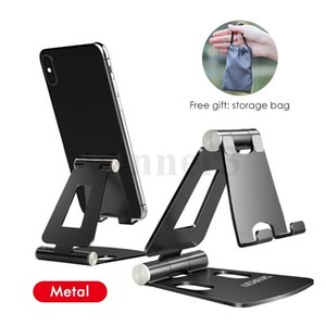 phone holder for iPhone 11, my Xiaomi 9, Metal phone holder, folding mobile phone holder, desktop stand for iPhone 7 8 X XS