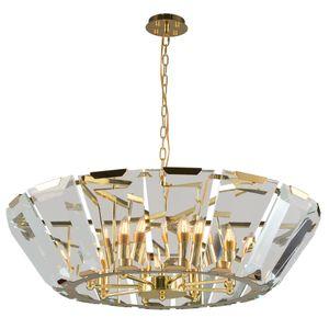 Luxury crystal chandelier lighting living room bedroom cone shape suspension hanging lamp lustre de cristal UPS