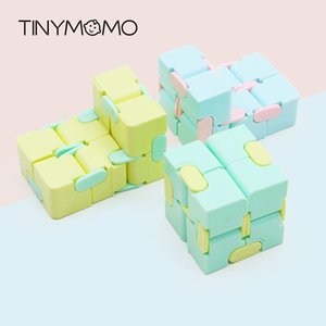 EDC Finger Infinity Anxiety Puzzle Mini Toy Stress Relief Cube Blocks Kids Funny Best Gift Toys For Children