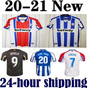 2020 2021 ديبورتيفو الافيس عدة جيرسي لكرة القدم 20 21 ألافيس 100th المئوية قميص camiseta دي فوتبول PERE PONS لوكاس خوسيلو لاغوارديا كرة القدم
