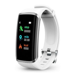 1.14inches Widescreen Smart Bracelet Waterproof IP67 Smart Band Pedometer Heart Rate Blood Pressure Sleep Smart Watch