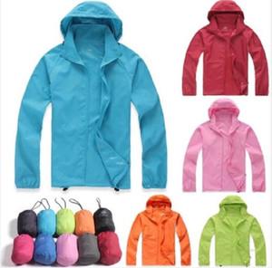 2021 NEW North Summer New Brand Women's Men's Fast drying Outdoor Casual Sports Waterproof UV Jackets Coats Face Windbreaker Black