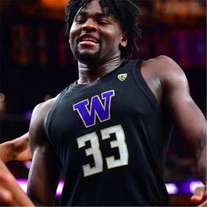 Özel NCAA 20 Markelle Fultz Washington Huskies Kolej Basketbol Jersey 5 Murray 2 Thomas 3 Brandon Roy 5 Jamal Bey